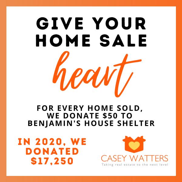 home sale heart